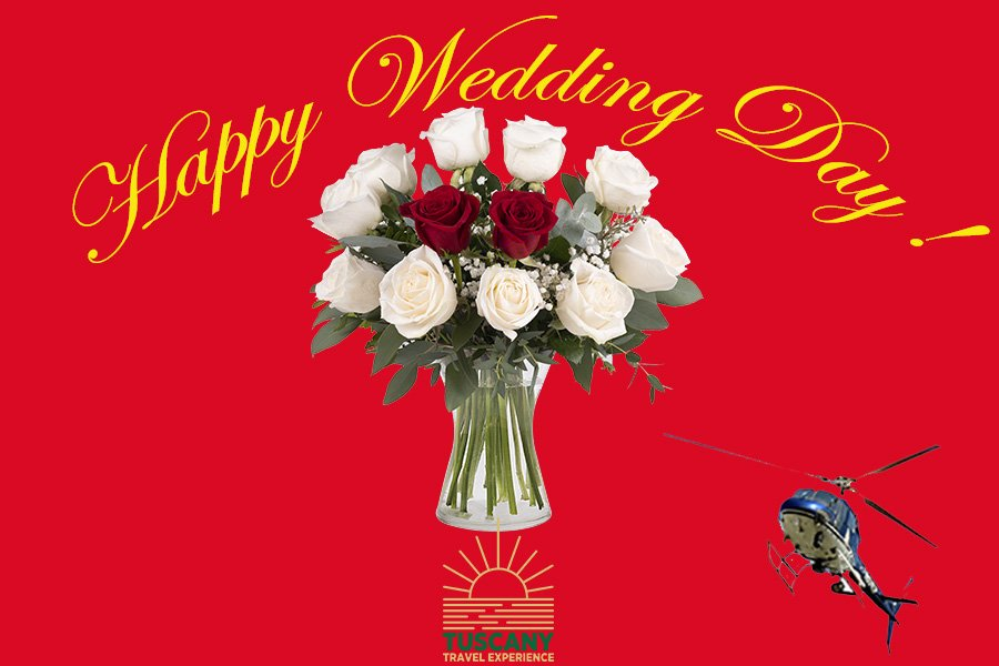 Wedding Day Helicopter Hire